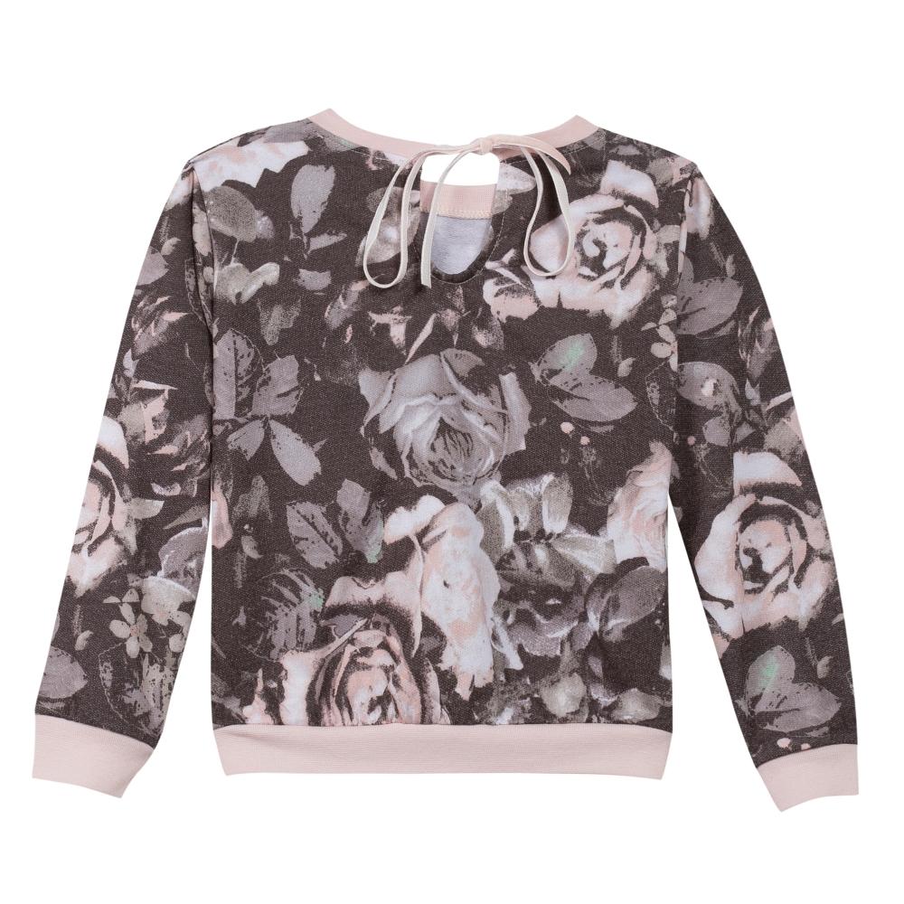 Sweatshirt floral