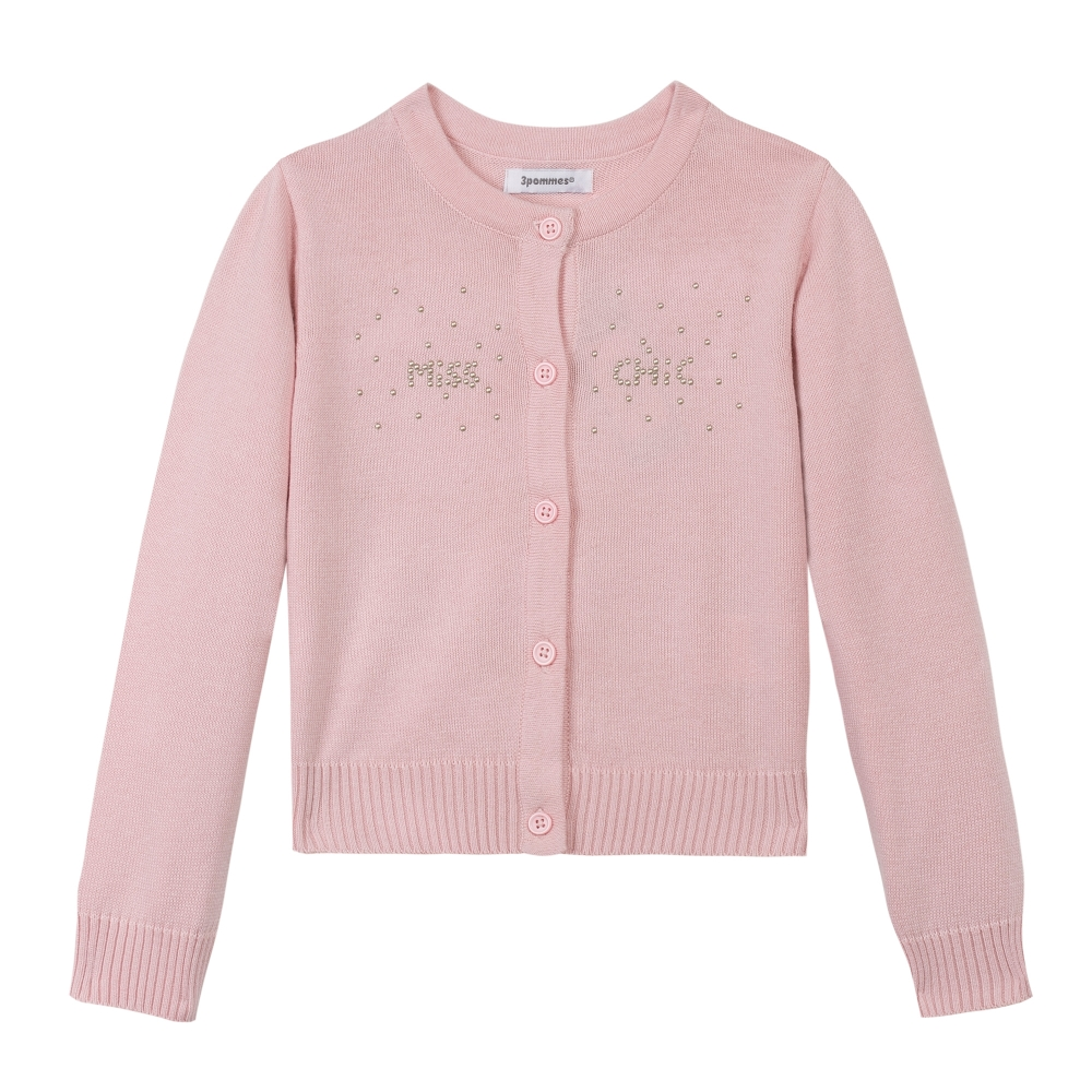 Cardigan in pink