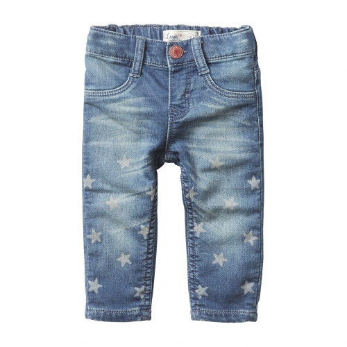Baby Girls Soft Starflee Jeans with Stars. Levi's Kids