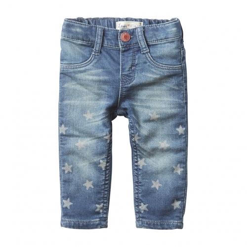 Baby Girls Soft Starflee Jeans with Stars. Levi's Kids