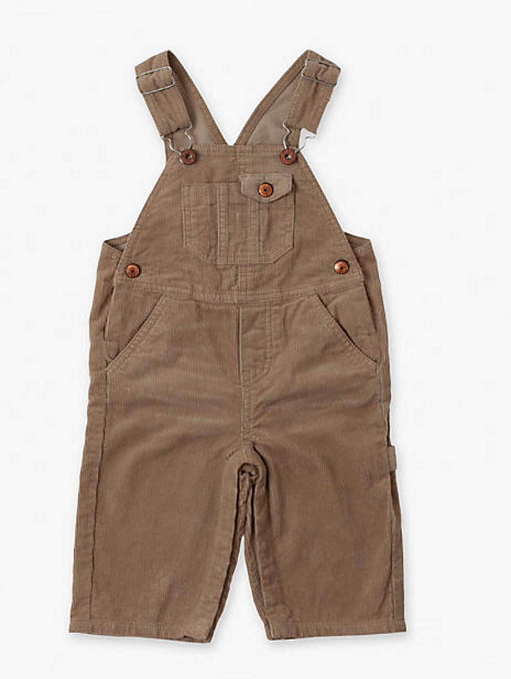 Big Boys' Denim Bib Overall 100% Cotton With Hammer Loop & Tool Pockets