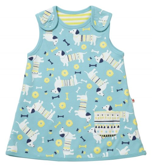 Reversible Dress - Sausage Dog Print